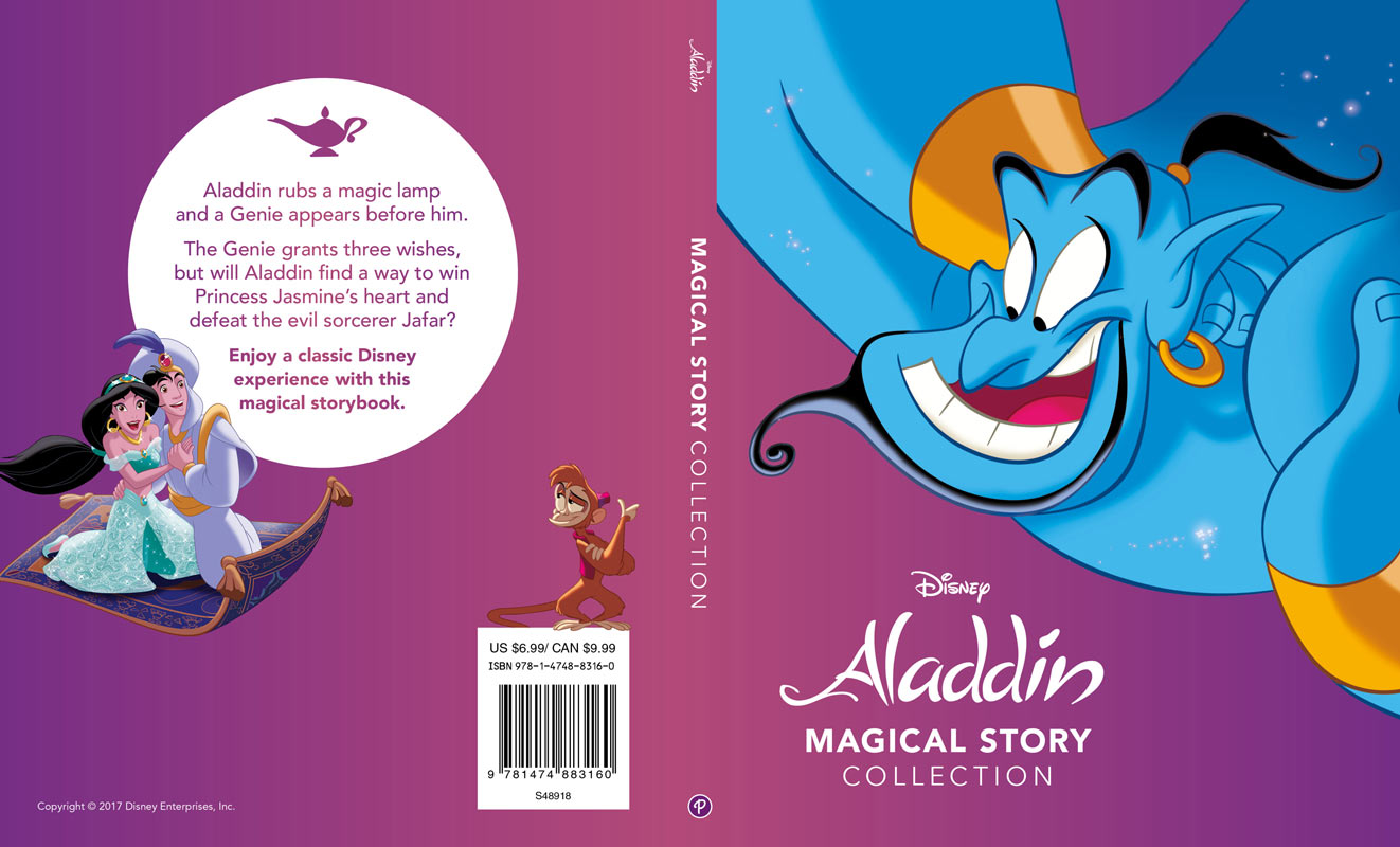 Amy Mchugh Magical Story Books Of Aladin Aladdin Cover