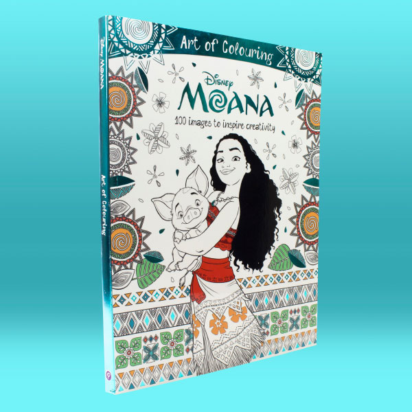 Moana Art of Colouring
